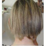 alongamento de cabelos curtos no Jardim Sara
