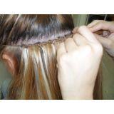 manutenção de alongamento de cabelo no Brooklin Velho