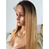 peruca front lace loira preço Vila Clementino