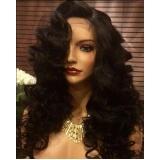 peruca full lace humano natural preço Berrini