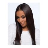 peruca front lace preta